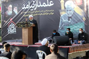 پیام حضرت عباس (ع) برای مسئولان امروز کشور، نهراسیدن از تحریم و تهدید دشمنان است