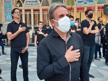 تصاویر/ عزاداری تاسوعا در حرم مطهر محمد هلال بن علی (ع) آران و بیدگل