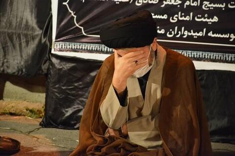 تصاویر/ مراسم عزاداری مسجد امام صادق (ع) ارومیه