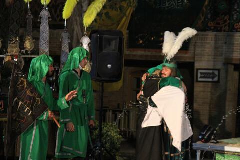 تصاویر / آیین تعزیه خوانی شب تاسوعا در همدان