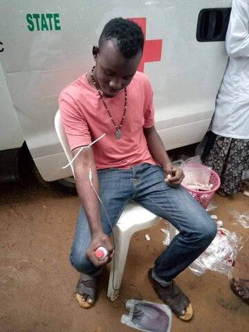 عزاداران حسینی در نیجریه به نیازمندان خون اهدا کردند