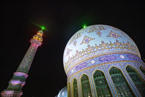 مراسم عزاداری شب تاسوعای حسینی در مسجد مقدس جمکران