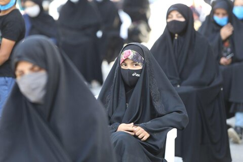 تصاویر/ مراسم تاسوعای حسینی در بجنورد