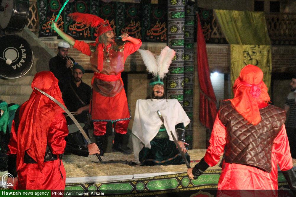 فیلم | آئین تعزیه خوانی شب تاسوعای حسینی در همدان