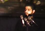 فیلم قدیمی از  روضه خوانی حاج قاسم سلیمانی