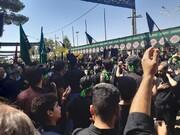 فیلم | مراسم پرشور عاشورای حسینی در نوش آباد