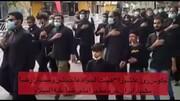 ویڈیو/ جلوس روز عاشور، طلاب اردو زبان مشہد المقدس