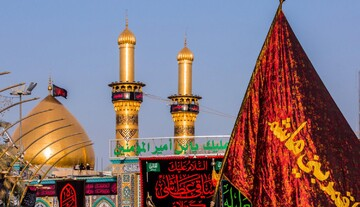 The atmosphere of Al-Abbas Holy Shrine these days