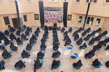 تصاویر/ عزاداری روز عاشورا در مدرسه علمیه الزهرا (س) ارومیه