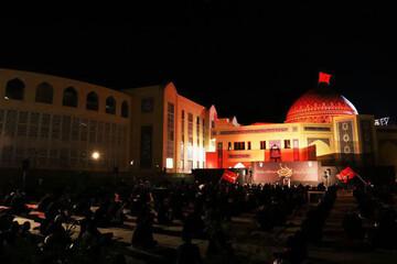 فیلم | عزاداری امام حسین (ع) در مدرسه علمیه کاظمیه یزد