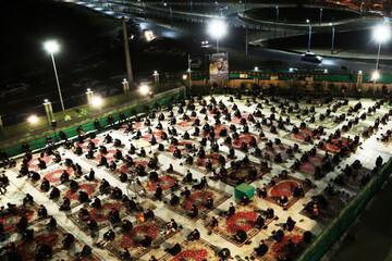 صوت   مراسم شب عاشورا در مدرسه علمیه کاظمیه یزد