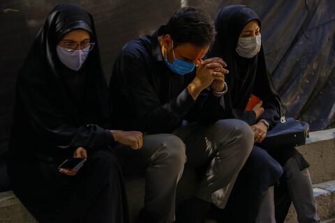 تصاویر/ مراسم سوگواری ظهر عاشورای حسینی در مدرسه علمیه چهارباغ