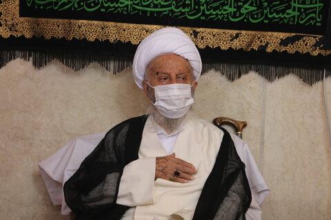 مراسم عزای عاشورای حسینی در با حضور آیت الله العظمی مکارم شیرازی