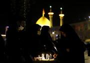 تصاویر/ شام غریبان در حرم کریمه اهل بیت(ع)