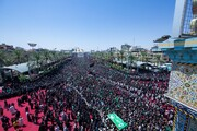 بالصور/ مراسيم احياء عزاء ركضة طويريج في كربلاء