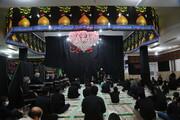 تصاویر/ شام غریبان حسینی در مسجد امام سجاد(ع) پردیسان
