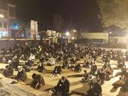 تصاویر/ برگزاری یازده شب عزاداری در شهر ایلام توسط حوزه علمیه صاحب الزمان (عج)