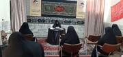 برگزاری مراسم «یاس های سه ساله» در مدرسه علمیه کوثر قزوین