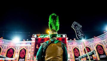 تصاویر/ مراسم عزاداری ویژه حضرت علی اکبر (ع) در کربلا
