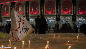 تصاویر/ حال و هوای شام غریبان امام حسین (ع) در کربلا