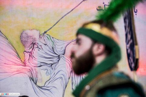 مراسم عزاداری ویژه حضرت علی اکبر (ع) در کربلا