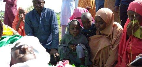 تشییع پیکر خبرنگار شهید حادثه عاشورای امسال در نیجریه