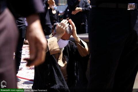 بالصور/ مراسيم عاشوراء في العتبة المعصومية المقدسة