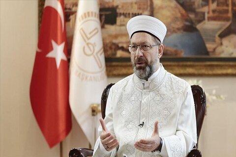 علی ارباش رئیس امور دینی ترکیه