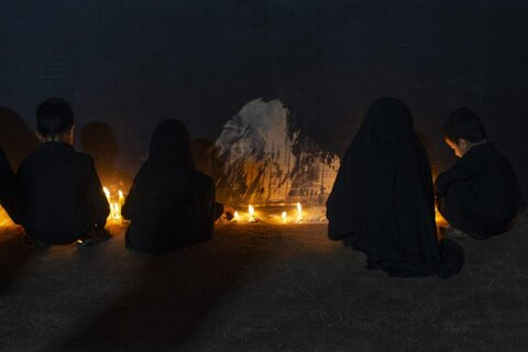 حال و هوای شام غریبان امام حسین (ع) در کربلا