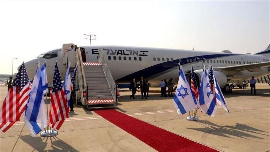 هیئت اسرائیلی از آسمان عربستان وارد بحرین شد