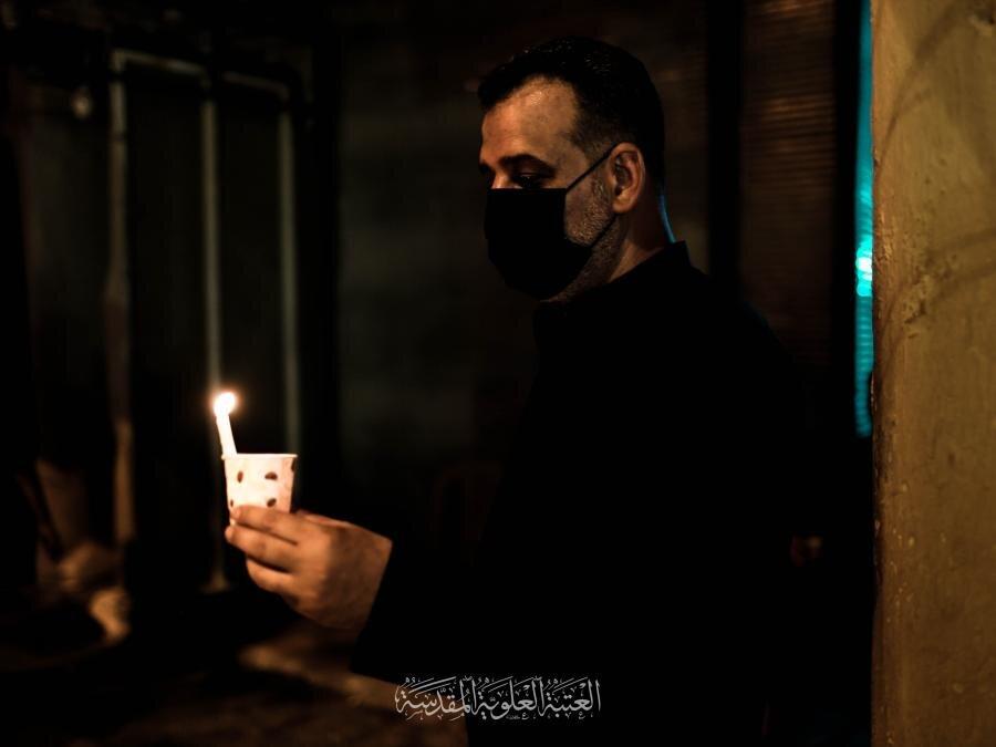 احیای شب شام غریبام امام حسین(ع) در جوار حرم حضرت امیرالمؤمنین(ع)