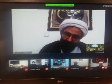 مراسم آغاز سال تحصیلی حوزه علمیه تهران با سخنرانی آیت الله العظمی سبحانی