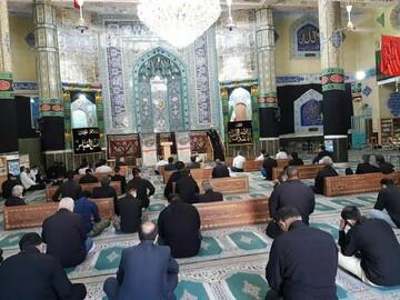 مراسم عزاداری شهادت امام سجاد(ع) در ورامین برگزار شد