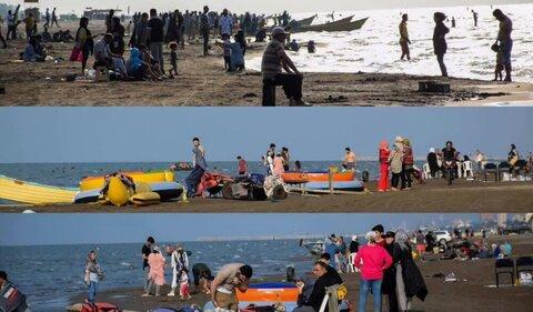 انتقاد به مسافرت ها و وضع سواحل شمال کشور
