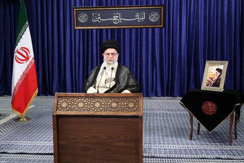 تصاویر/ سخنرانی رهبر معظم انقلاب در اجلاس سالیانه رؤسا و مدیران آموزش و پرورش