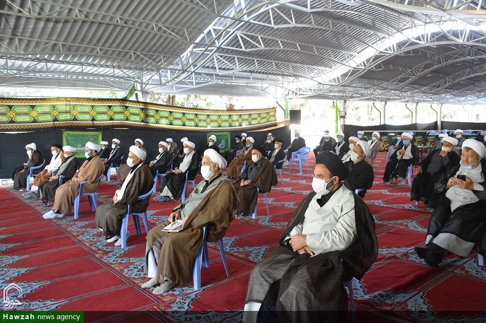 تصاویر/  مراسم عزاداری شهادت امام سجاد(ع) در مصلای ارومیه