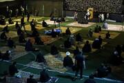 تصاویر/ اولین شب مراسم عزاداری هیئت هنر و رسانه استان قم