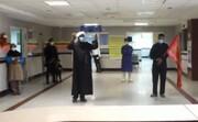 فیلم | عزاداری طلاب روز عاشورا در بیمارستان پیامبراعظم(ص) قشم