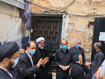 مرحله سوم کمکرسانی دفتر آیتاللهالعظمی سیستانی به خسارتدیدگان انفجار بیروت + تصاویر
