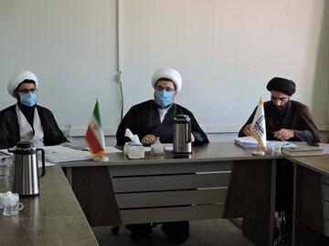 تصاویر/ نشست مدیران مدارس علمیه استان آذربایجان شرقی