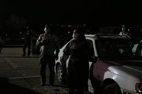 تصاویر| آئین سوگواری خودرویی در شیراز