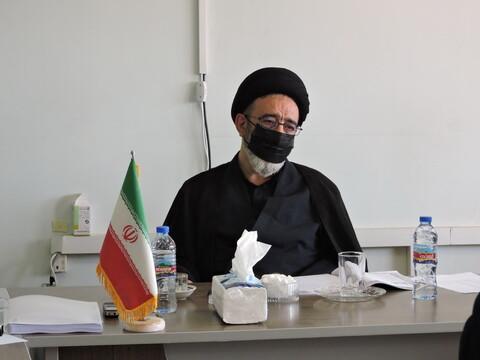 جلسه مدیران مدارس علمیه استان آذربایجان شرقی
