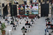 تصاویر  مراسم عزاداری نوجوانان کانون حاج قاسم سلیمانی شیراز