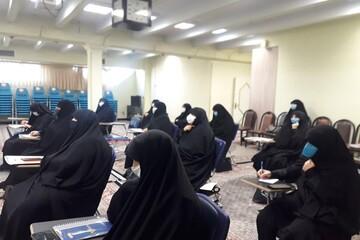 تصاویر/ اجلاس فصلی مدیران مدارس علمیه خواهران استان همدان