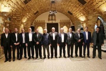 Hamas' Haniyeh meets Islamic Jihad chief, to meet Sayyed Nasrallah