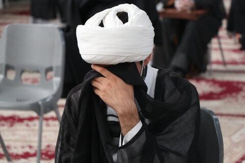 عزاداری طلاب و روحانیون شیرازی در سوگ سیدالشهدا(ع)