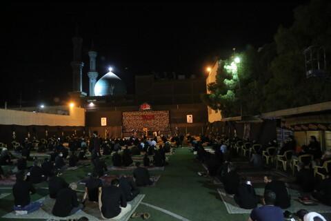 دومین شب مراسم عزاداری اباعبدالله الحسین(ع)در هیئت هنر و رسانه استان قم