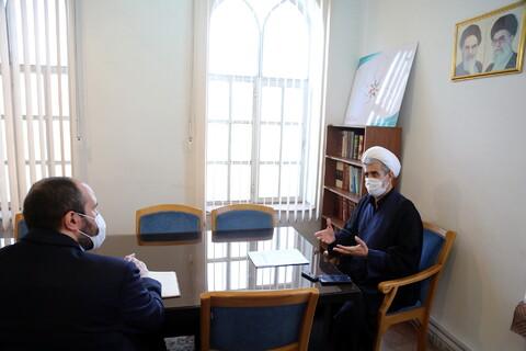 تصاویر/مصاحبه-حجت الاسلام والمسلمین یعقوبی مدیر مدرسه ذفقه و اصول