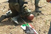 ویڈیو/ گردن پر گھٹنے کا منظر، فلسطین میں غاصب صیہونیوں کا ظلم