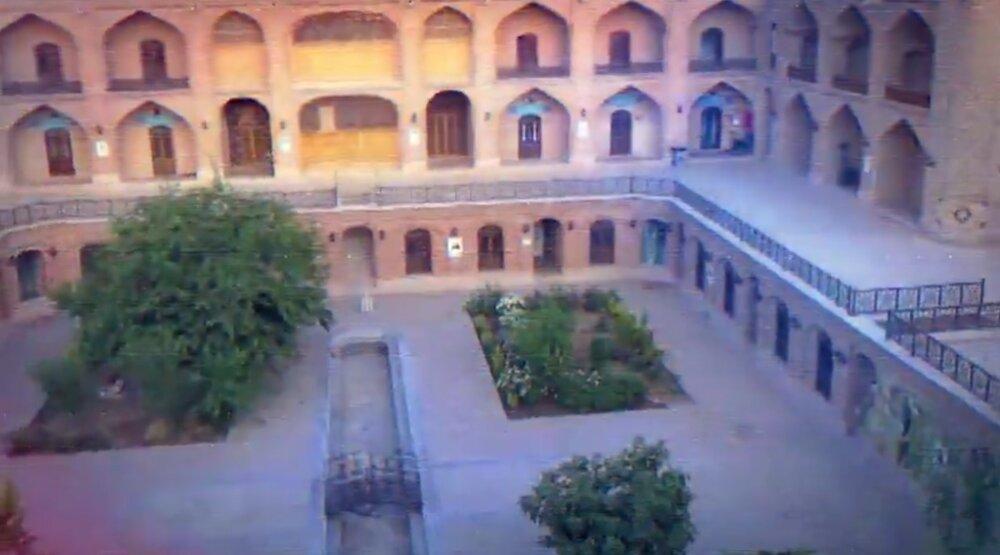 تیزر   اقامه عزای اباعبدالله الحسین(ع) در مدرسه صالحیه قزوین